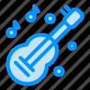 guitar, instrument, kora, music icon