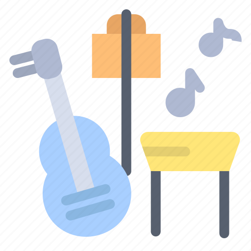 Guitar, music, song icon - Download on Iconfinder