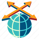 business, free trade area, fta, global, investment, trade, worldwide icon