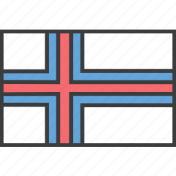 country, european, faroe, flag, island icon