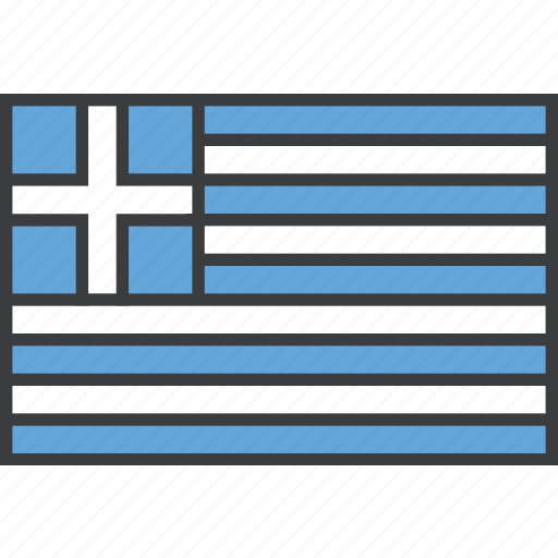 country, european, flag, greece, greek icon