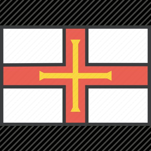 country, european, flag, guernsey icon