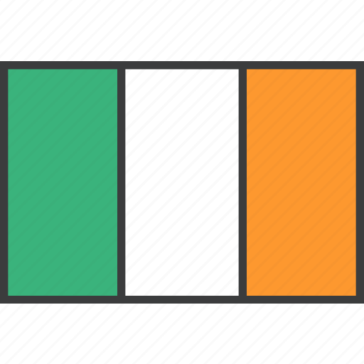 country, european, flag, ireland, irish icon