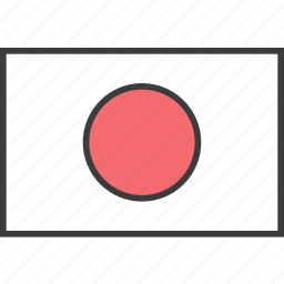 asian, country, flag, japan, japanese icon