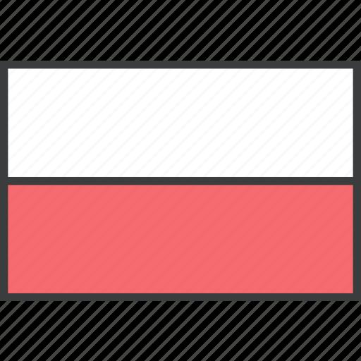 country, european, flag, poland, polish icon