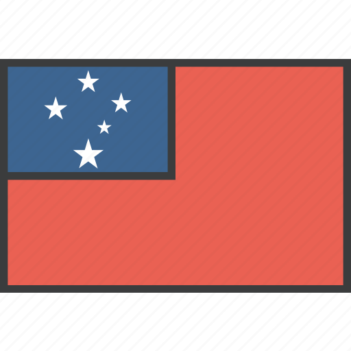 country, flag, samoa, samoan icon
