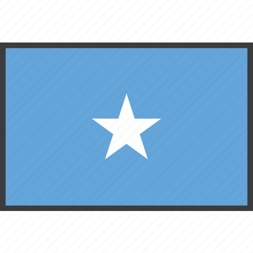 african, country, flag, somalia, somalian icon