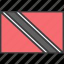 country, flag, tobago, trinidad