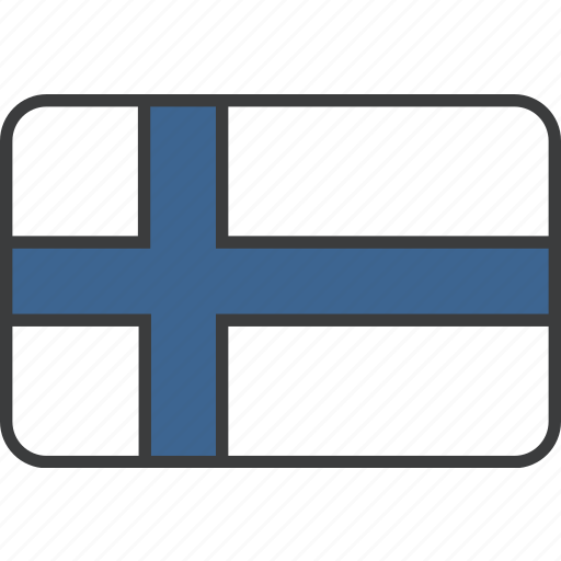 country, european, finland, finnish, flag, national icon