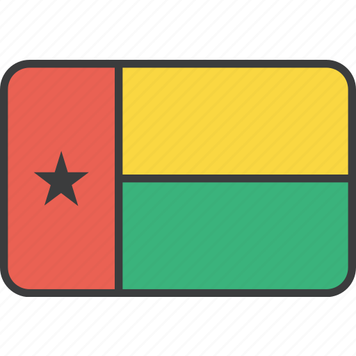 african, bissau, country, flag, guinea, guinean icon
