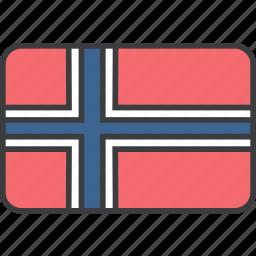 country, european, flag, national, norwageian, norway icon