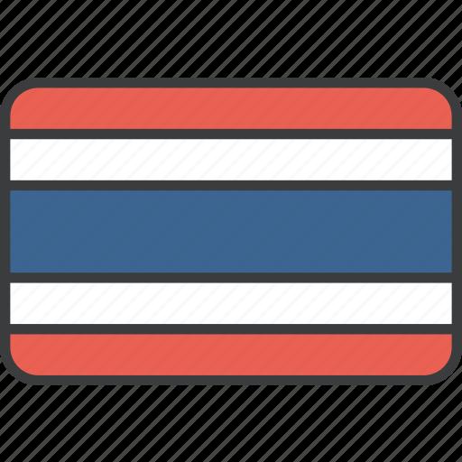 asian, country, flag, national, thai, thailand icon