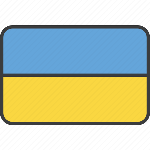 country, european, flag, national, ukraine, ukrainian icon