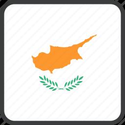 country, cyprus, european, flag icon