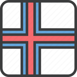 country, european, faroe, flag, island icon