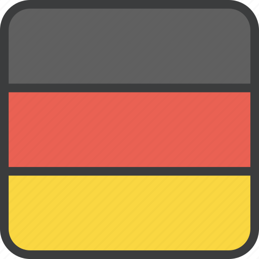 country, european, flag, german, germany icon