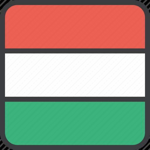 country, european, flag, hungarian, hungary icon