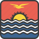country, flag, kiribati icon