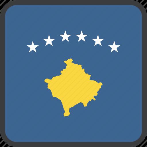 country, european, flag, kosovan, kosovo icon