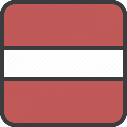 country, european, flag, latvia, latvian icon