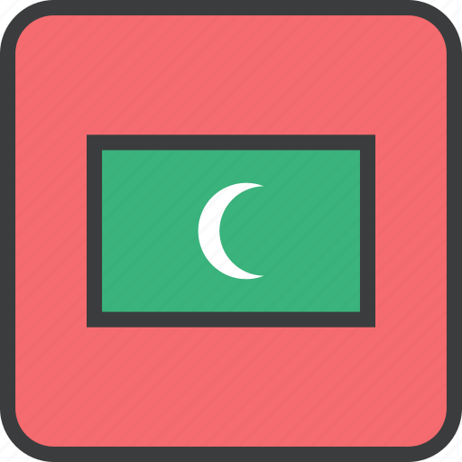 Asian, country, flag, maldives icon - Download on Iconfinder