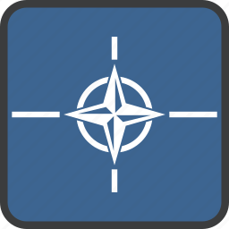 flag, nato, treaty icon