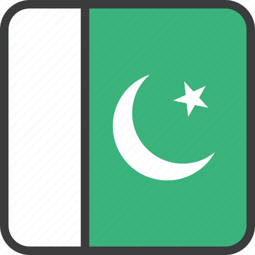 asian, country, flag, pakistan, pakistani icon
