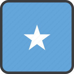 african, country, flag, somalia, somalian icon