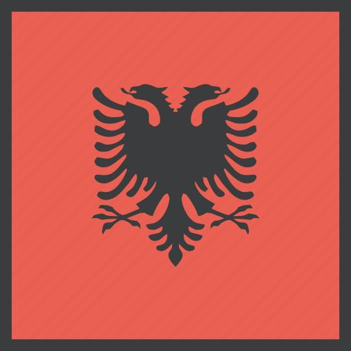 albania, albanian, country, european, flag icon