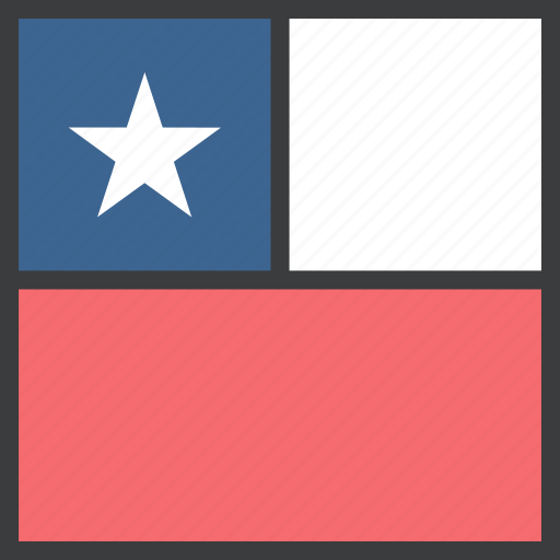 chile, country, flag icon