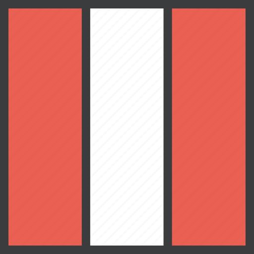 country, flag, peru, peruvian icon