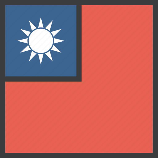 asian, country, flag, taiwan, taiwanese icon