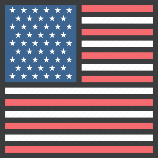 country, flag, states, united, us, usa icon