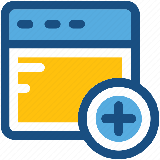 add, add screen, application, danger, monitor icon