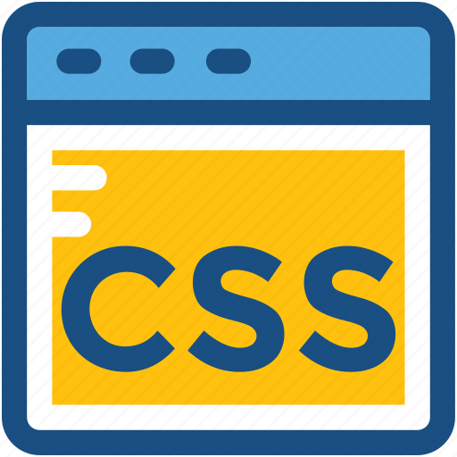 cascading style sheet, css, css screen, programming, stylesheet icon