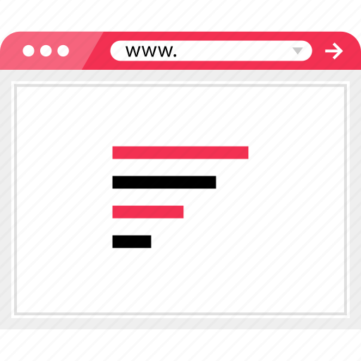 bars, browser, code, graph, online icon