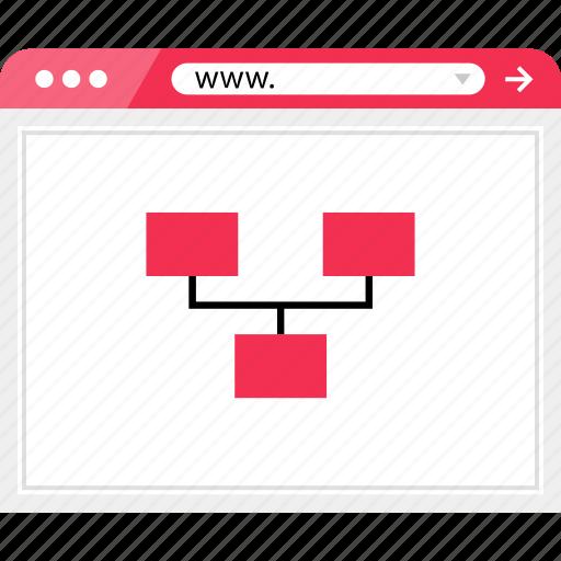 browser, internet, online, plan, web icon