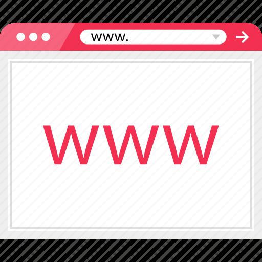 browser, online, web, website, www icon