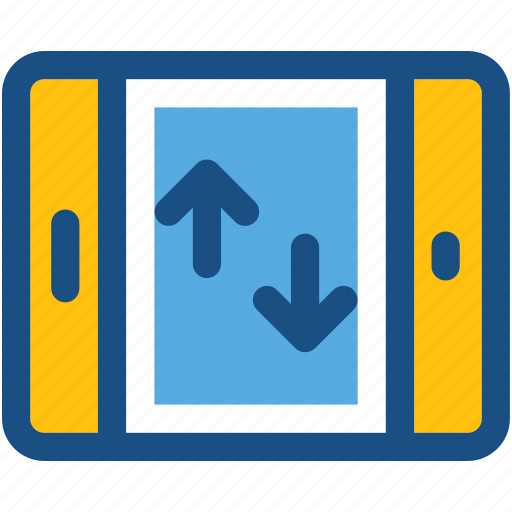 arrows, communication, connection, data communication, transfer arrows icon