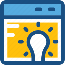 get idea, idea, innovation, invention, online idea icon