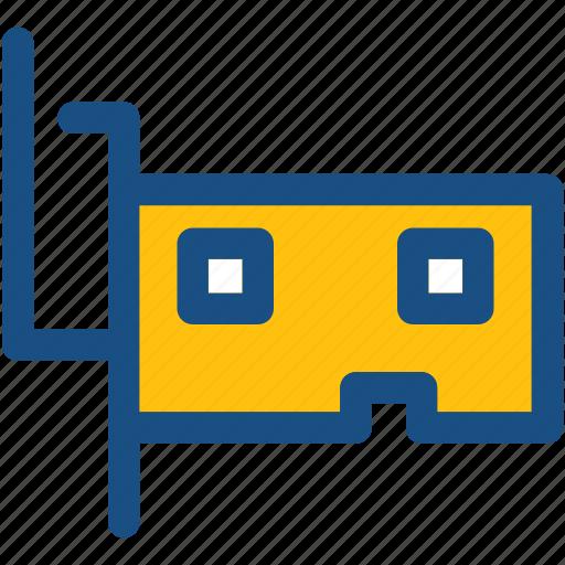 audio card, computer accessory, hardware, lan card, sound card icon