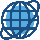 earth, globe, planet, world map, worldwide icon