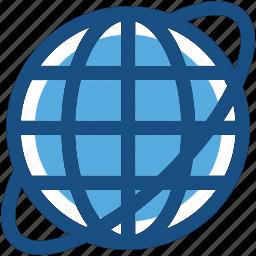 earth, globe, planet, world map, worldwide icon