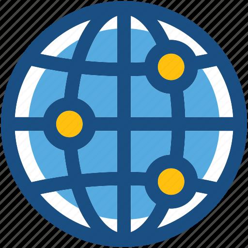 around the globe, globe, international, planet, worldwide icon
