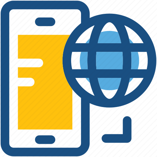 connection, device, mobile browsing, mobile communication, mobile internet icon