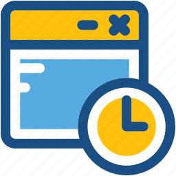 clock, schedule, screen timer, time, timer icon