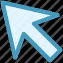 arrow, arrow pointing, direction, directional arrow, up left icon