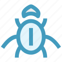 bug, internet bug, virus, virus bug icon