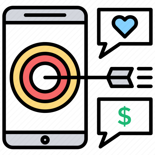 Digital advertising, digital marketing, internet marketing, online marketing, targeted marketing icon - Download on Iconfinder