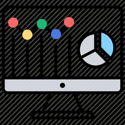 Data analysis, seo performance, web analytics, website dashboard, website statistics icon - Download on Iconfinder